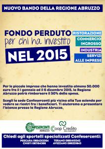 Bando Investimenti 2015