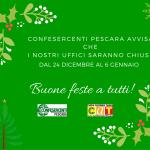 Buone feste da Confesercenti Pescara