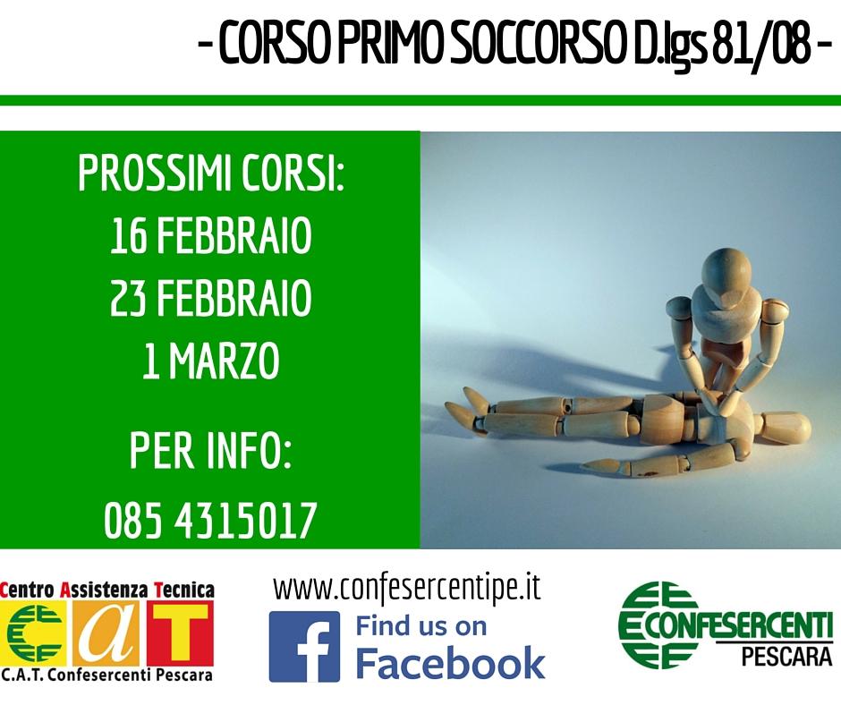 Corso Primo Soccorso Pescara