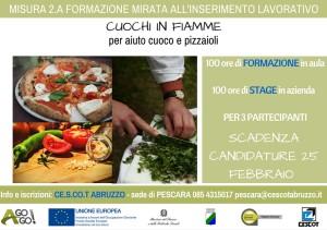 Garanzia Giovani MISURA 2A cuoco pizzaiolo